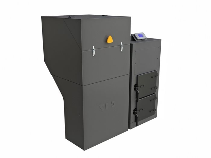 Automatický kotel na uhlí a pelety BENEKOV C17 Premium, Climatix Premium (EkoDesign)