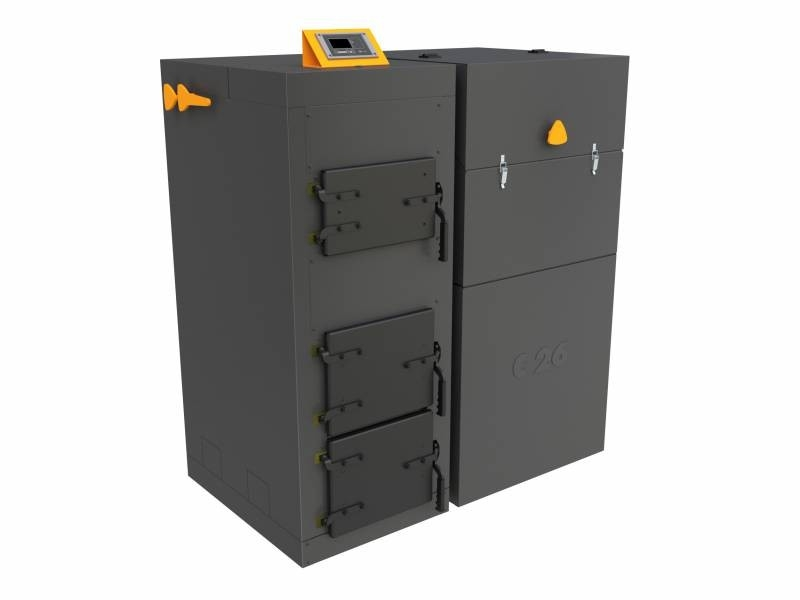 Automatický kotel na uhlí a pelety BENEKOV C27 Premium, Climatix Premium (EkoDesign)