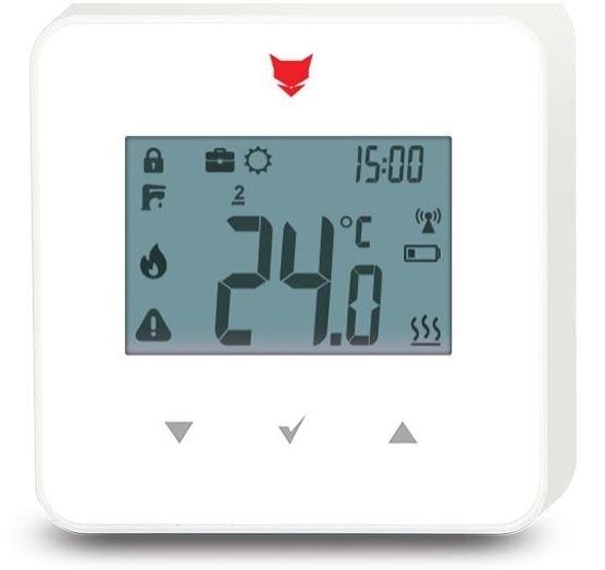 Benekov Pokojový termostat PellasX RADIO bez ISM modulu