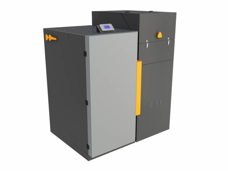 Automatický kotel na pelety BENEKOV R51, Climatix 2 (EkoDesign)