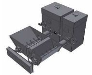 BENEKOV Sestava odpopelňovače R51 - využitelné pro C51, R51, bez pohonu